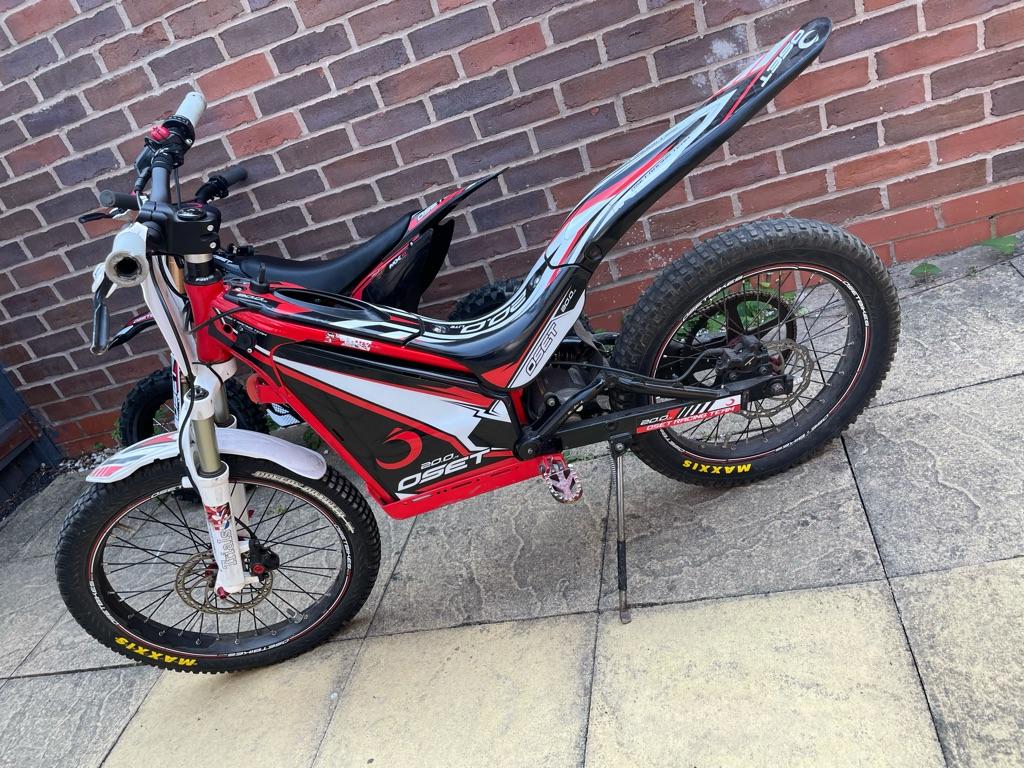 Oset 20 trails racing bike