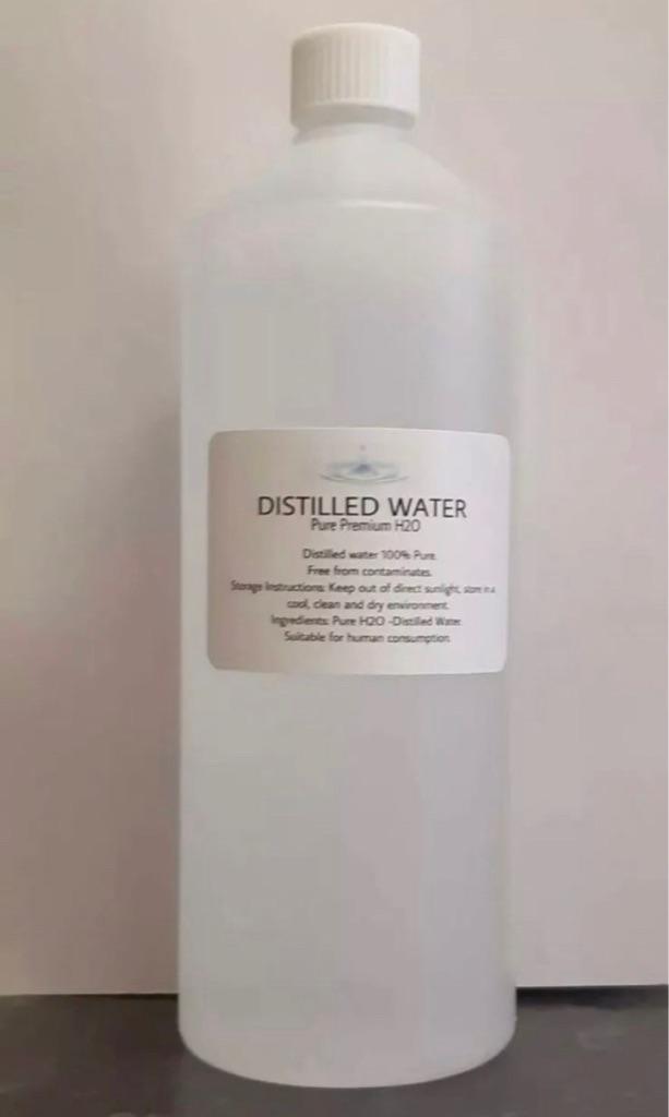 Distilled Water 1L Pure Premium H20