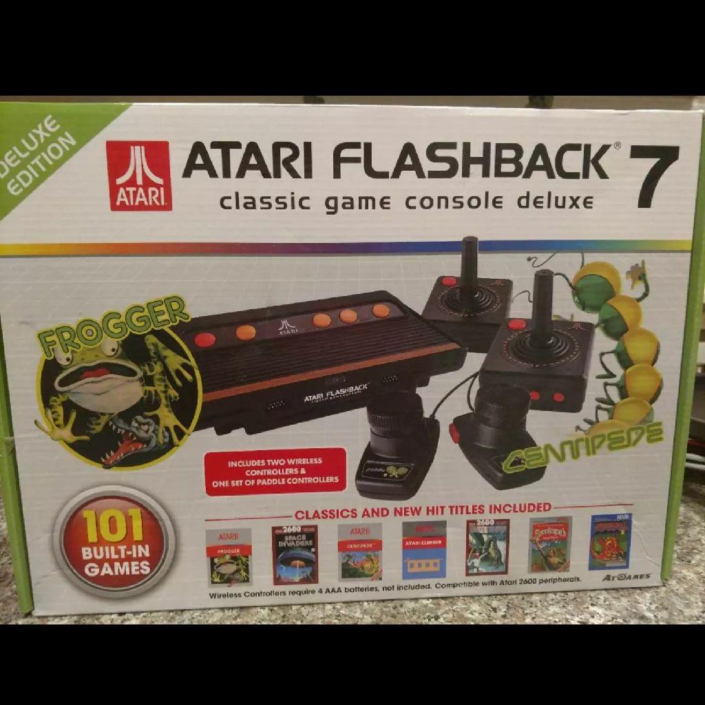 Atari flashback game console