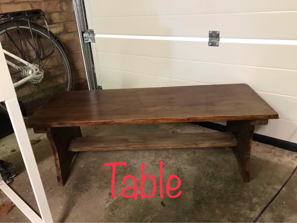 Table/ tv stand wooden