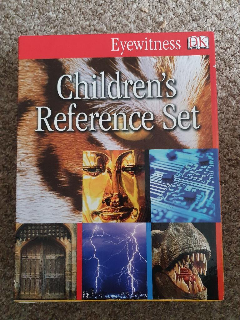 DK Children's Reference set