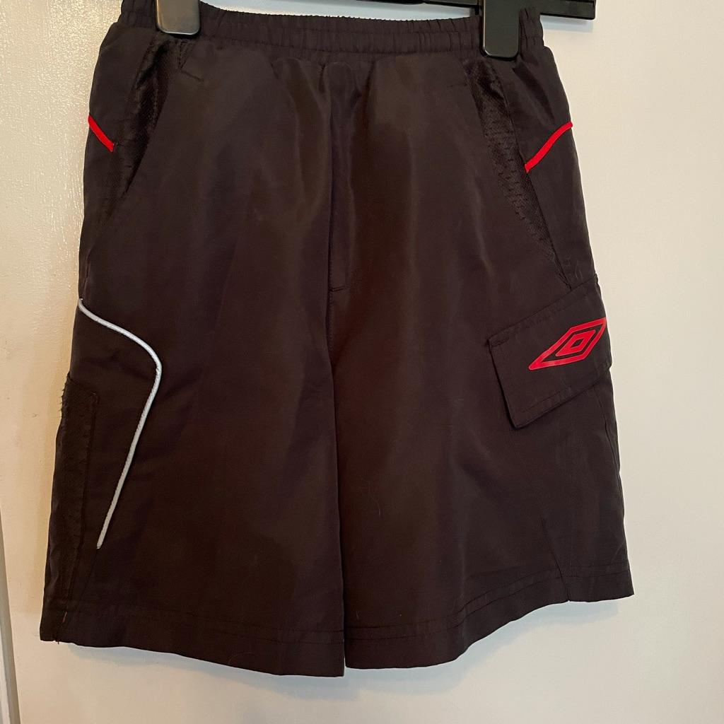 Boys Black Swim/ beach shorts age 8-9