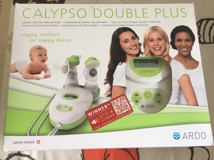 ARDO calypso double breast pump - excellent condition