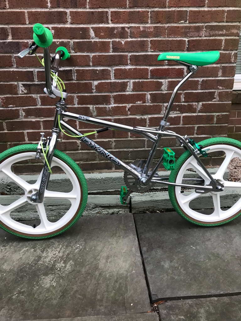 Dyno Air [GREEN LANTERN]: GT/ Skyway/ Haro/ Redline/ CW -BMX 80's FREESTYLE BIKE