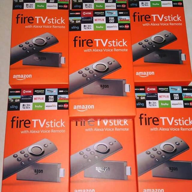 Jailbroken 17.4 Amazon Firesticks With Voice Remote Talk (Brand New) *Will Deliver And Set Up*