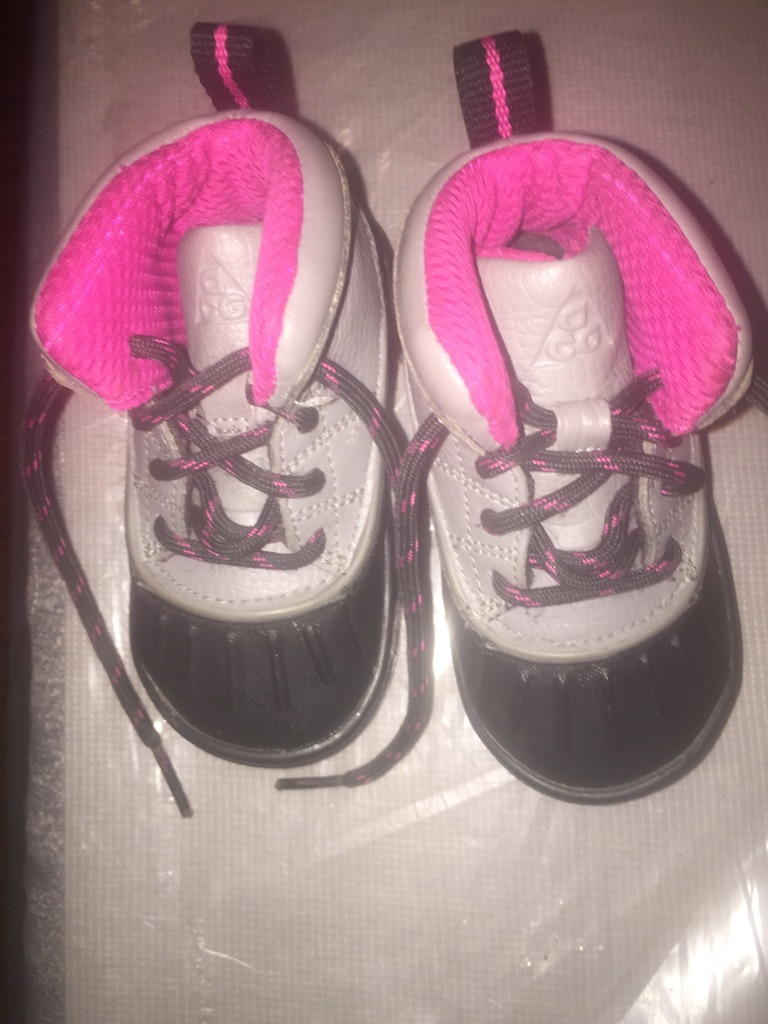 Baby Nike's shoes