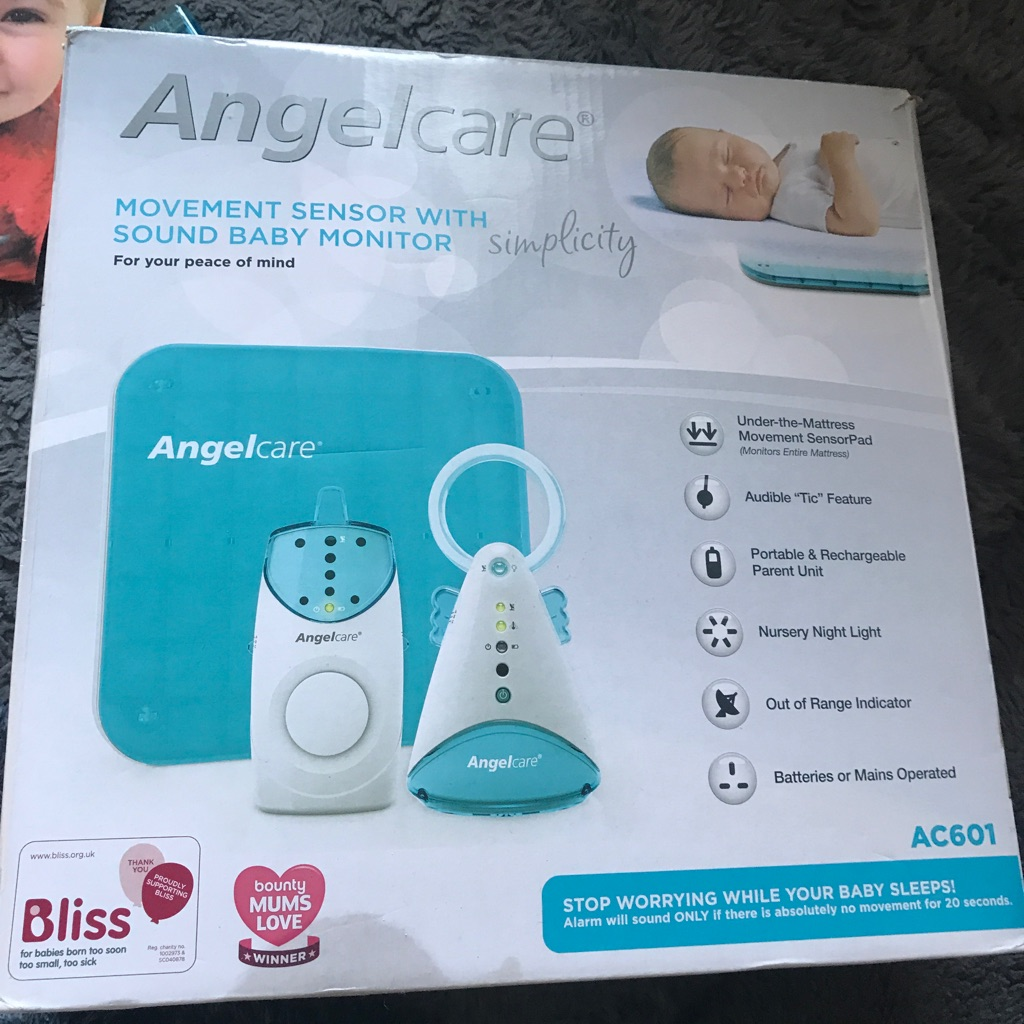 Angel care baby sleep and breath monitor