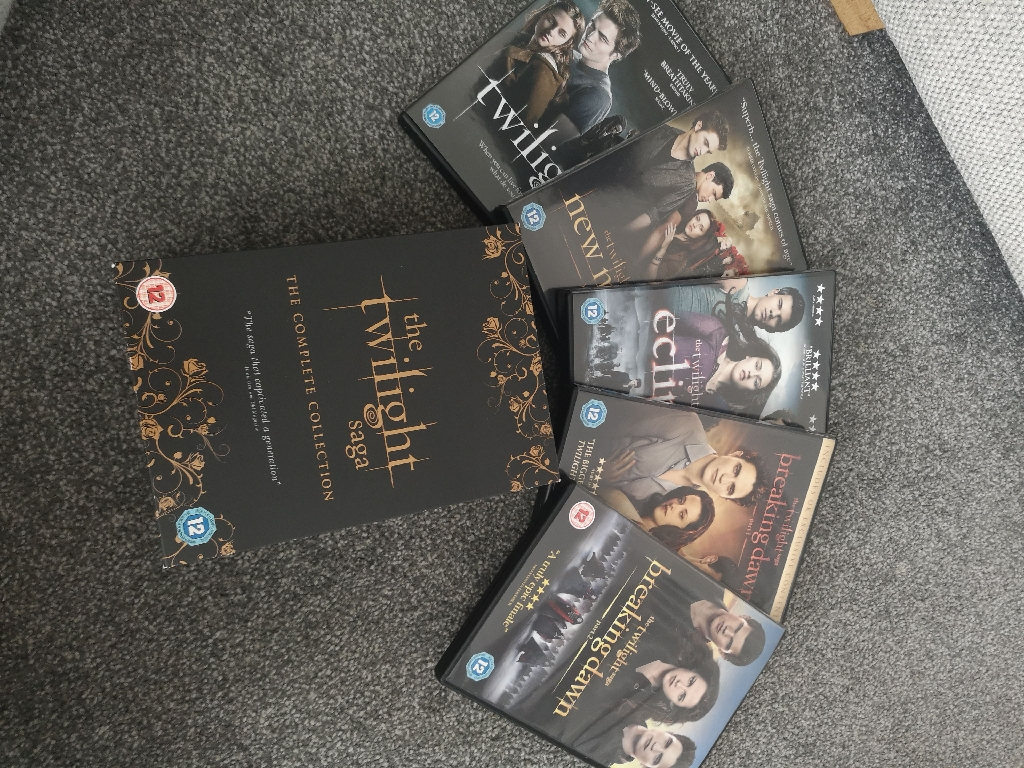 Twilight Saga DVD Box Set