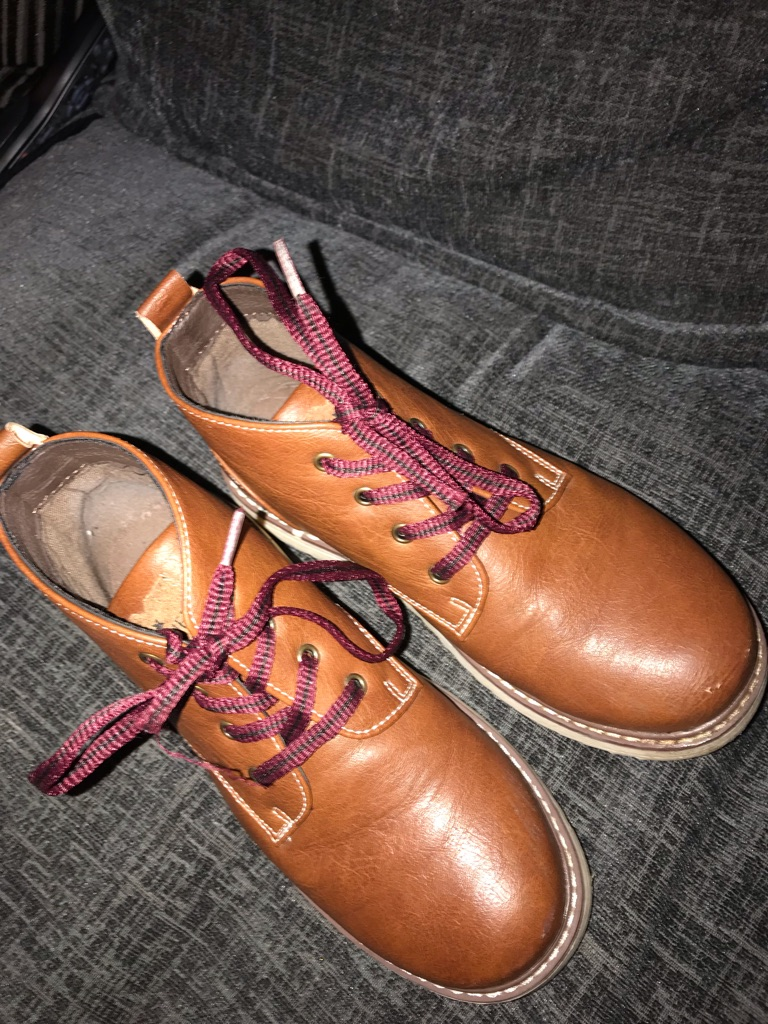 junior brown boots