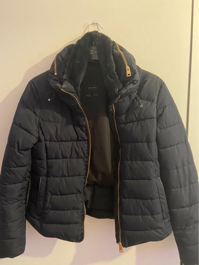 Zara coat/puffer jacket size 8