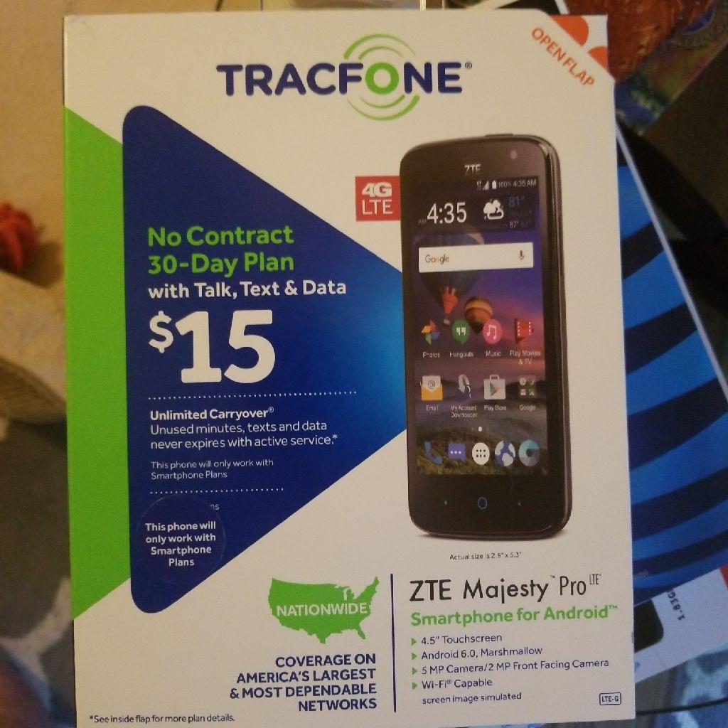 TracFone ZTE Majesty Pro