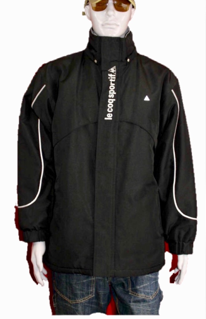 Le Coq Sportif Mens With Hood Jacket