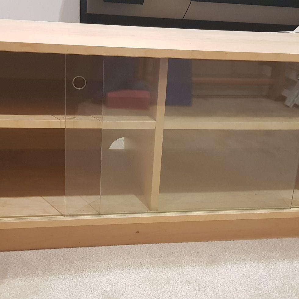 IKEA oak cabinet