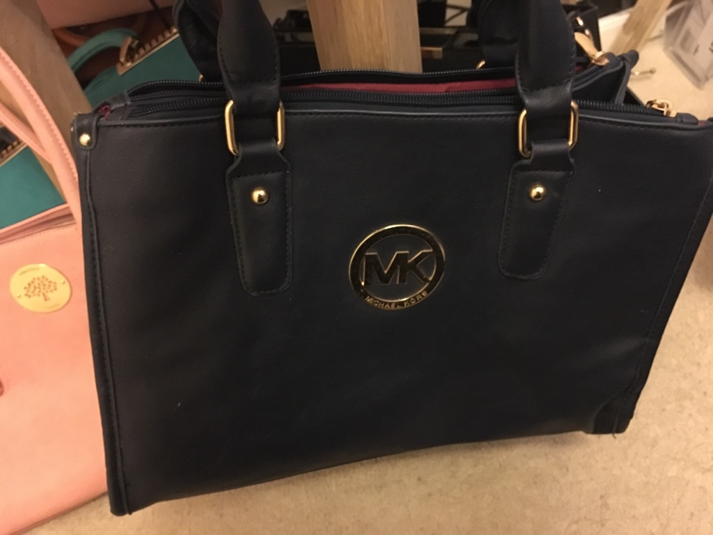Faux MK bag and matching purse