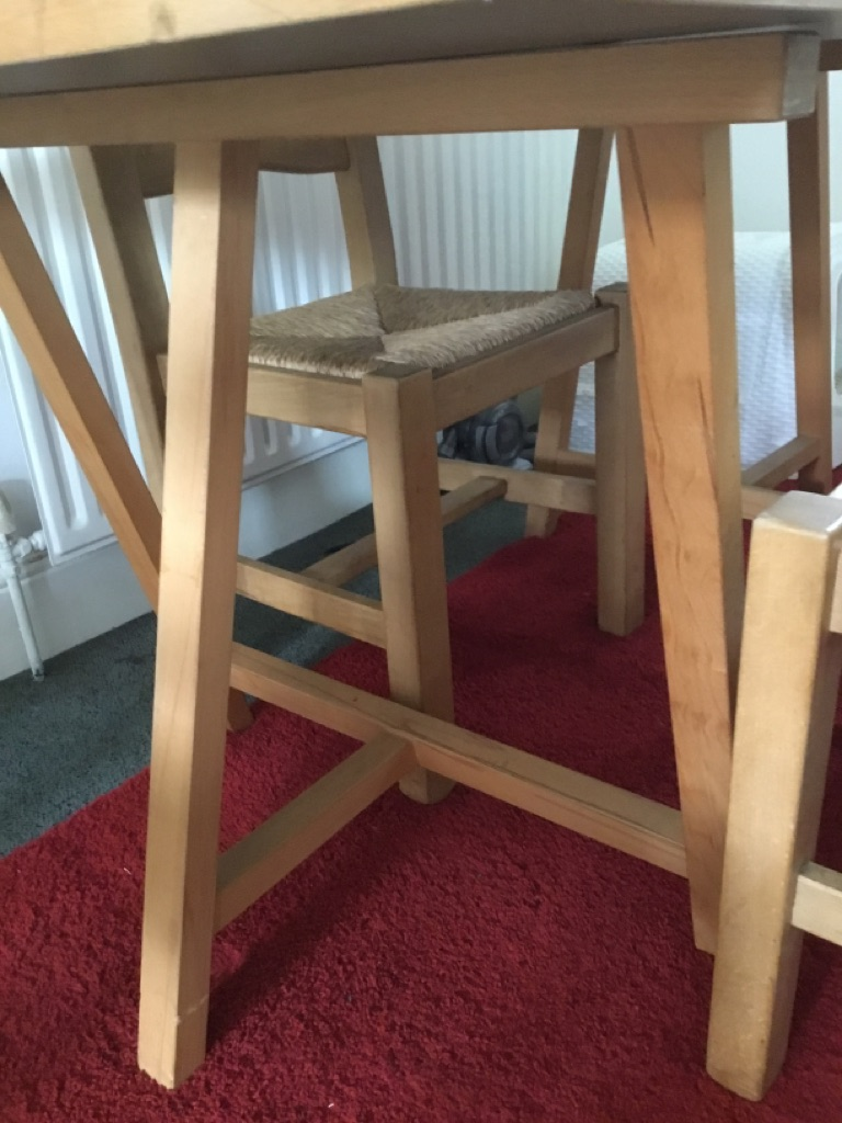 eople and 4 chairs, only £60 the lot!