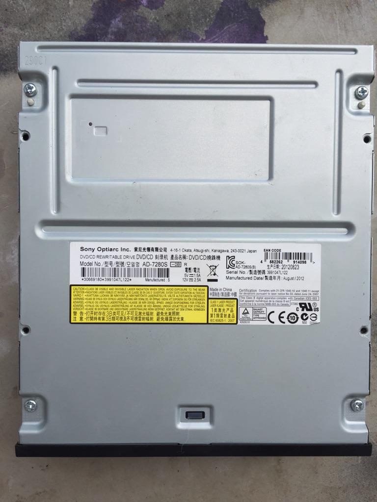Sony DVD burner