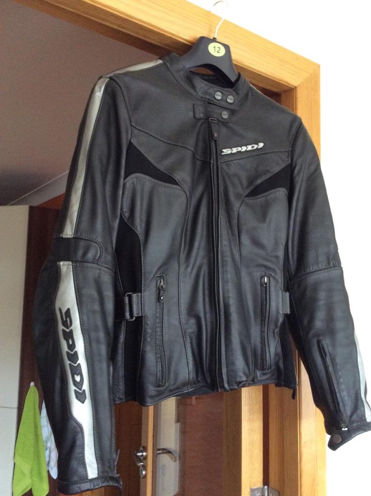 Ladies Leather Motorbike Jacket