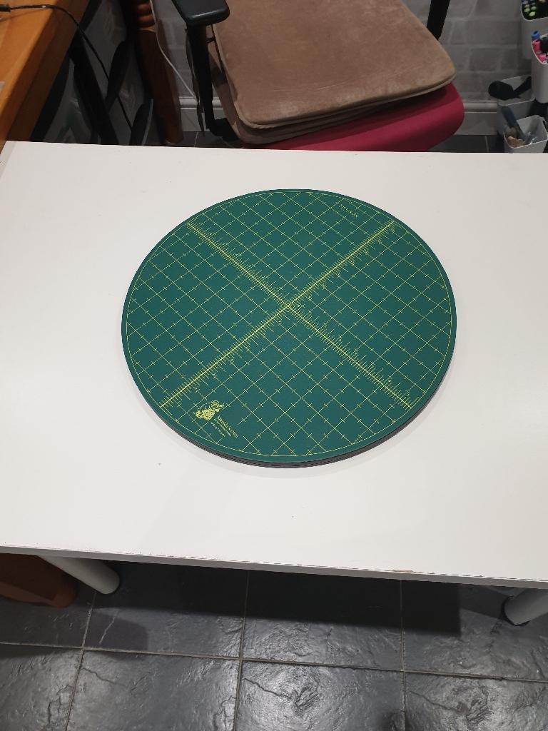 Turning cutting matt