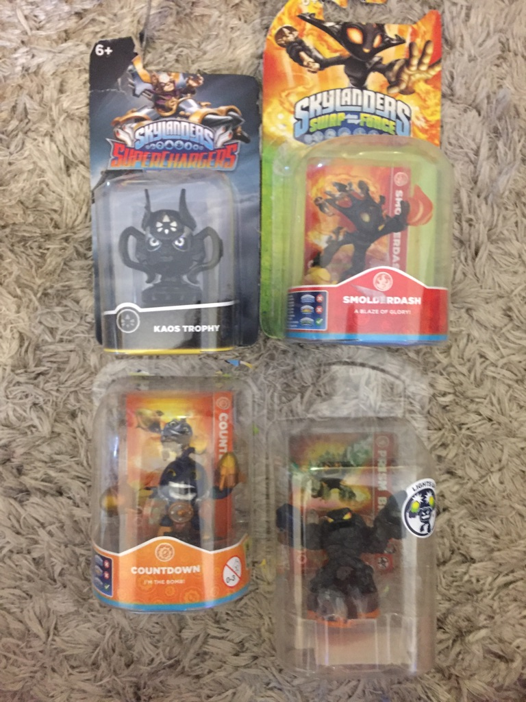 Sky landers figures/toys x4 brand new