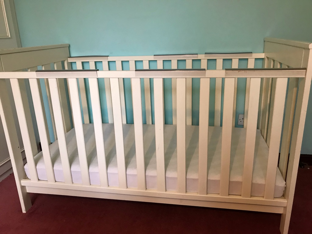 Cot bed with FREE mattress