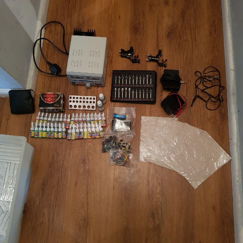 Full starter tattoo kit