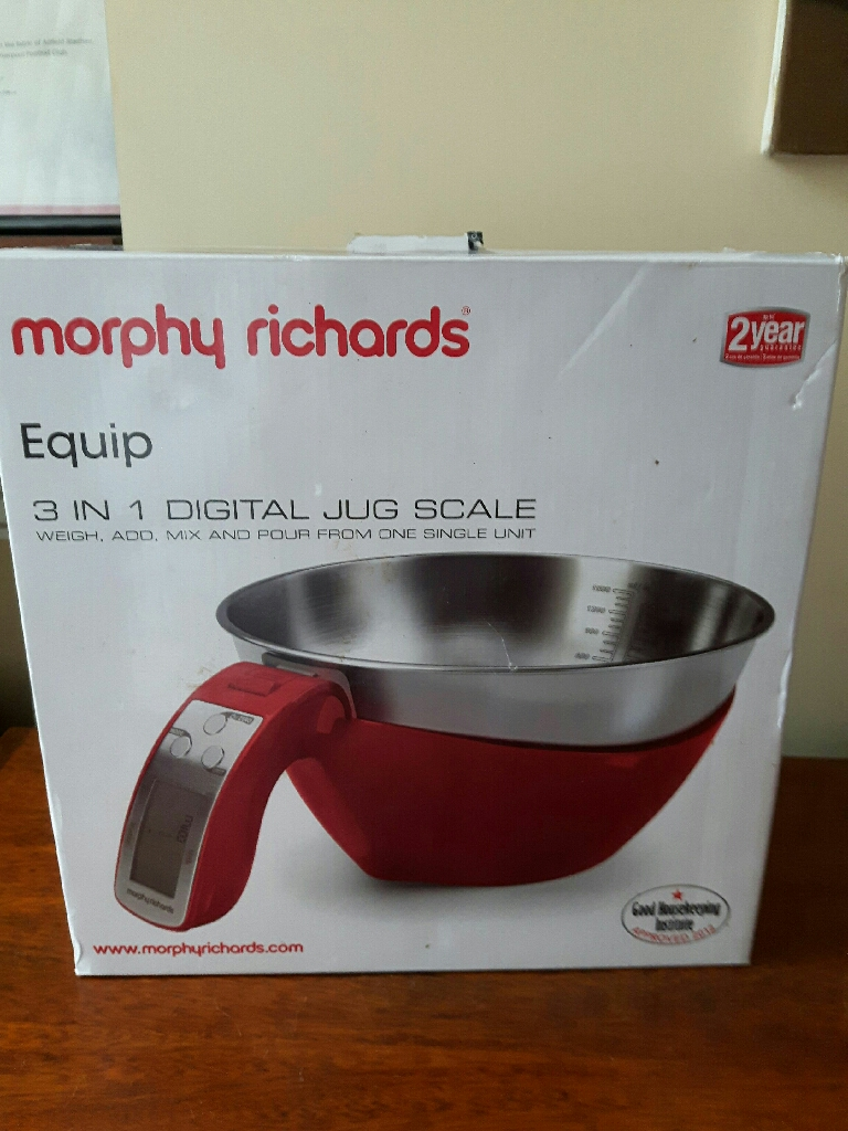 Morphy Richards Equip 3 in 1 jug/scale