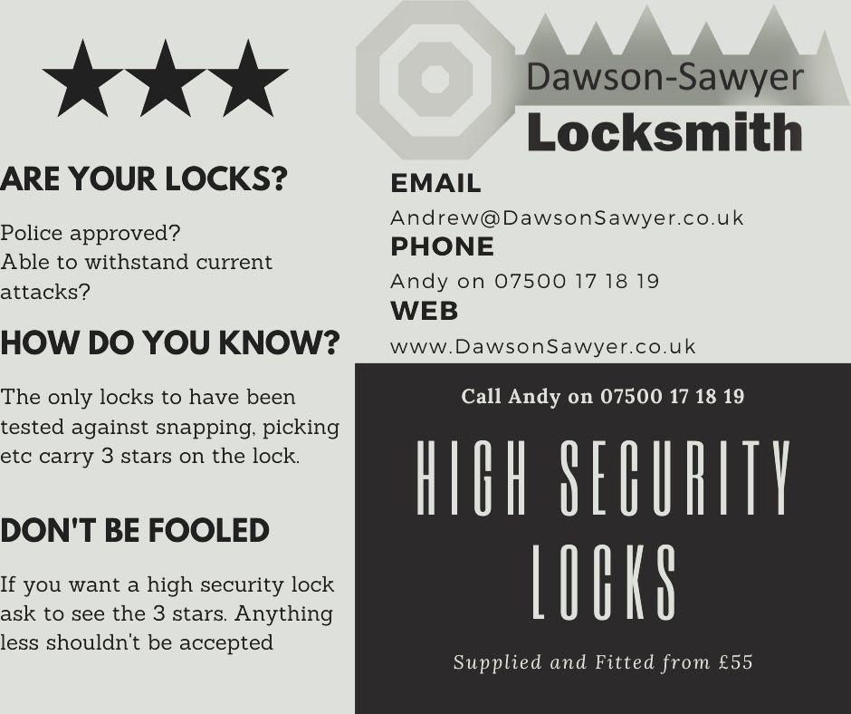 High security door locks-3 star