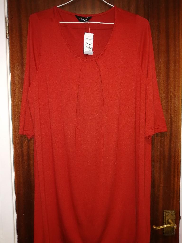 New Orange Top/ Dress