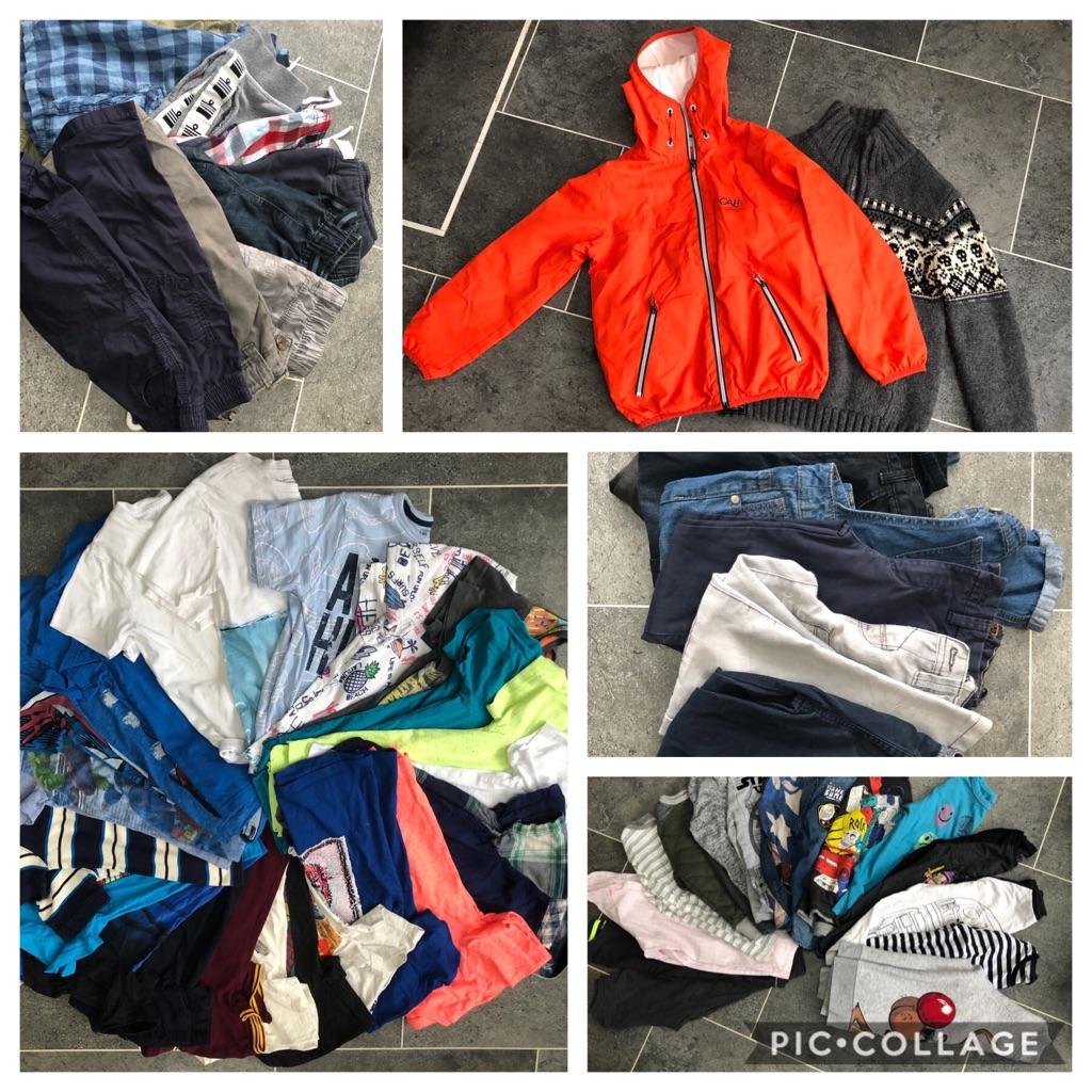 Aged 7 boys clothing bundle