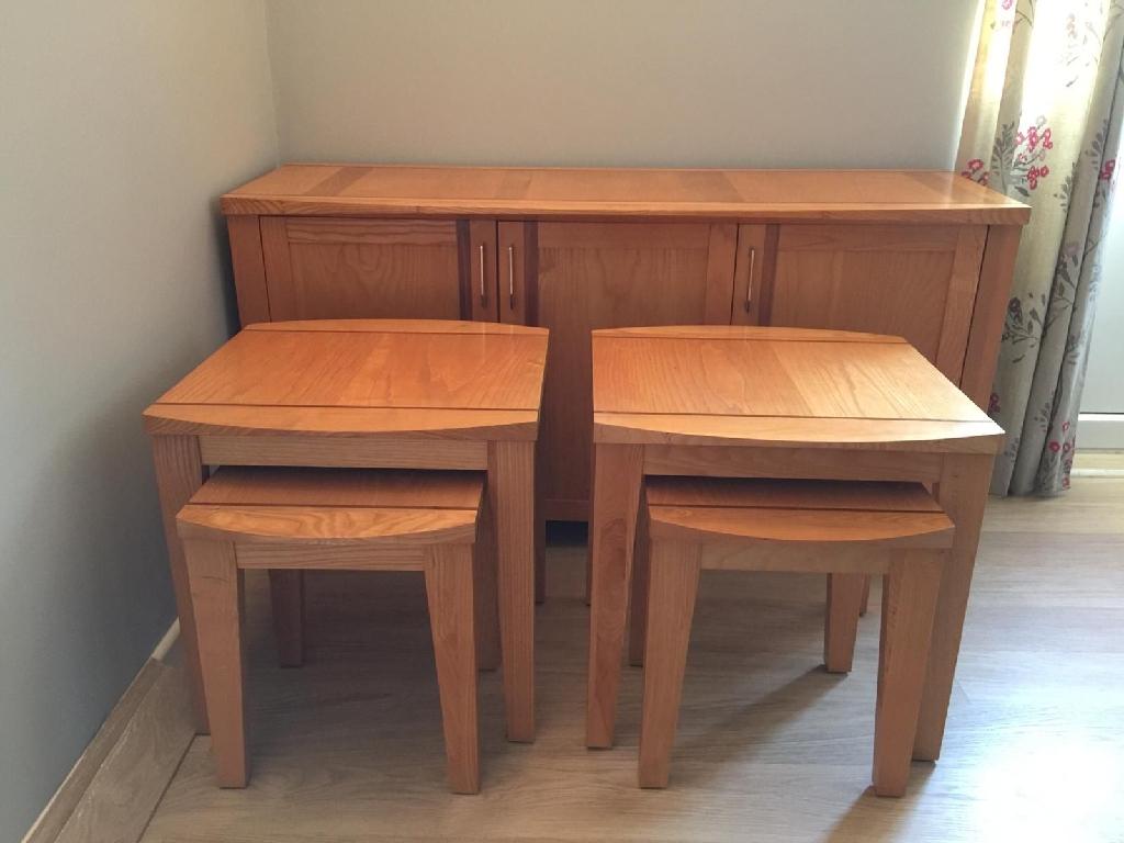 Solid Oak Marks & Spencer furniture set