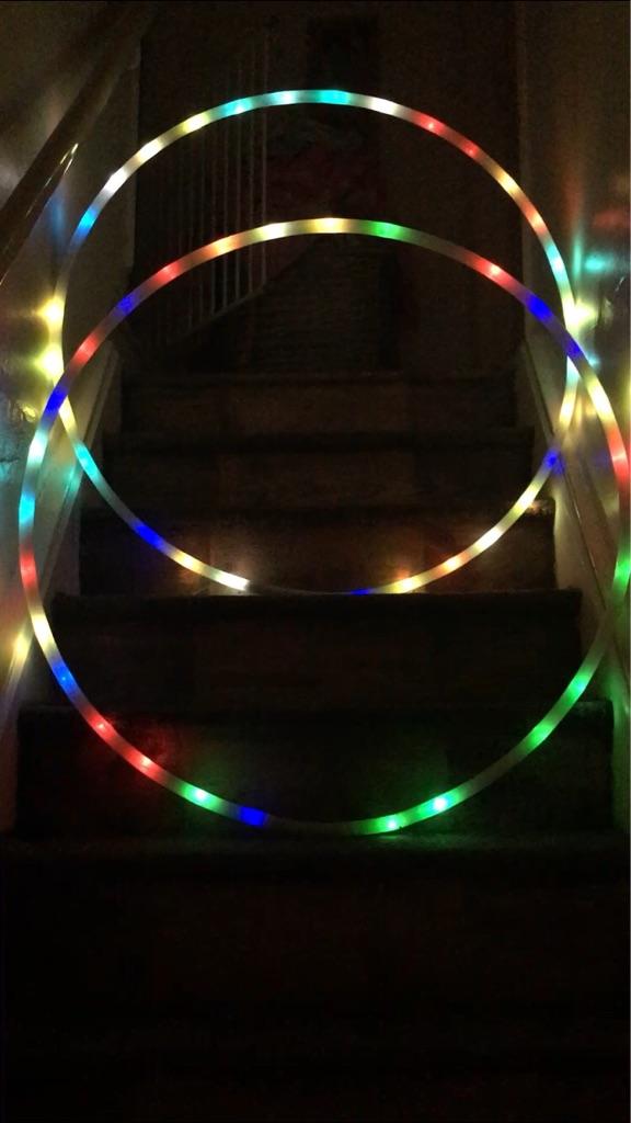 Disco LED Hula Hoop ( Flashing )