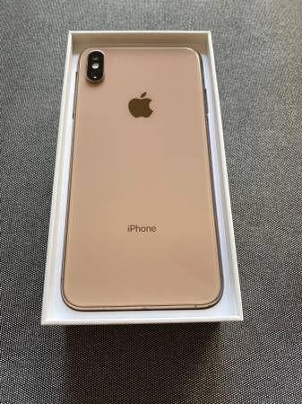 Iphone xs max unlocked. 128gb