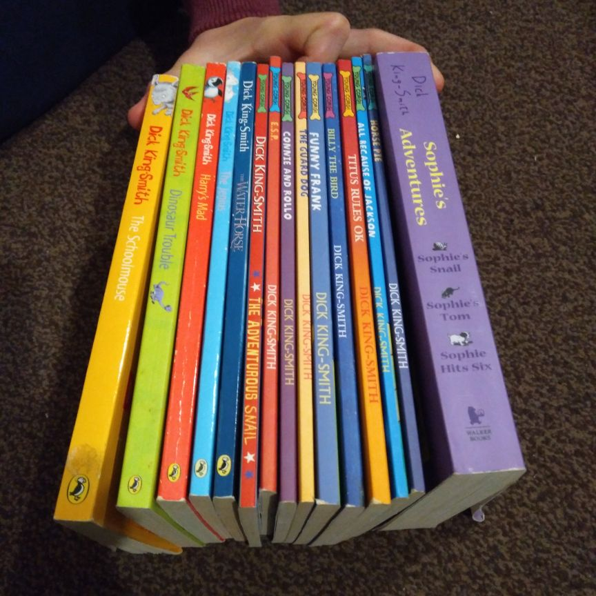 Dick King-Smith books x 15
