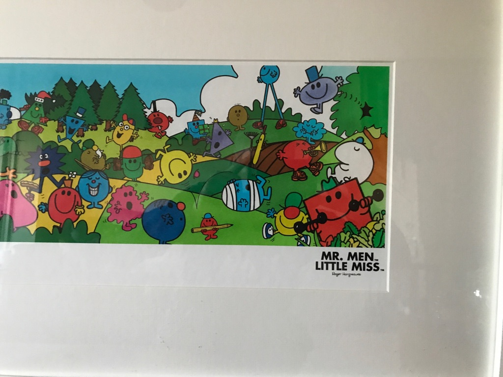 Mr Men limited Picture