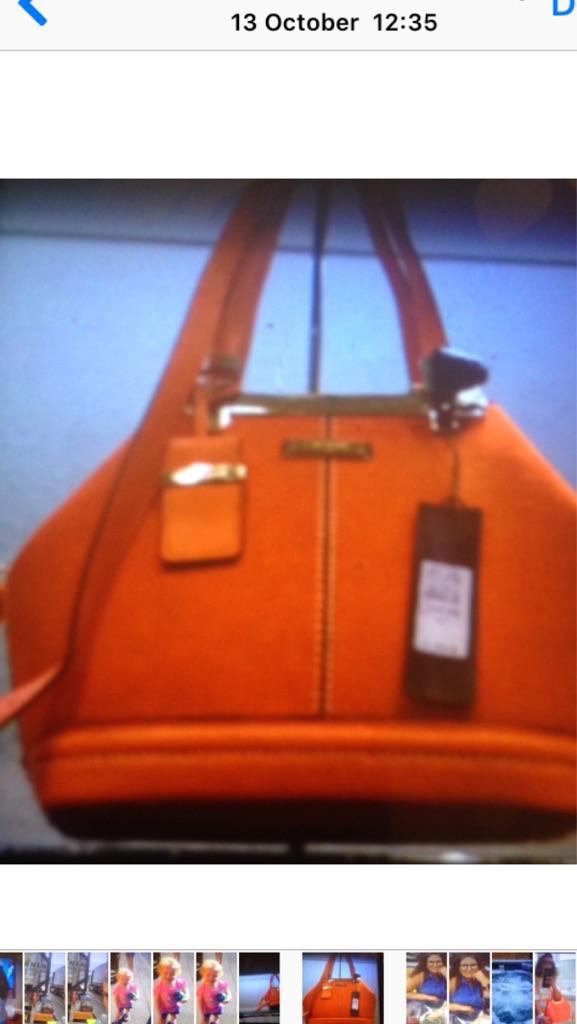 Looking fir this orange hand bag was in river Ireland last years shop want buy