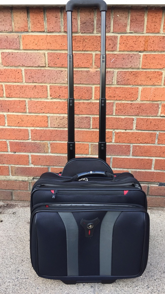 Laptop / folding trolley overnight bag