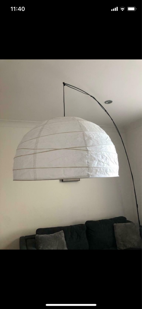 Ikea Large Arched Floor Lamp Village
