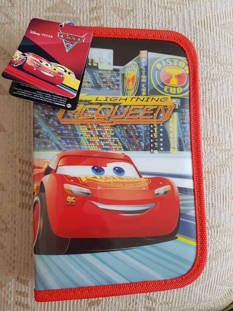 Brand new disney cars filled pencil case