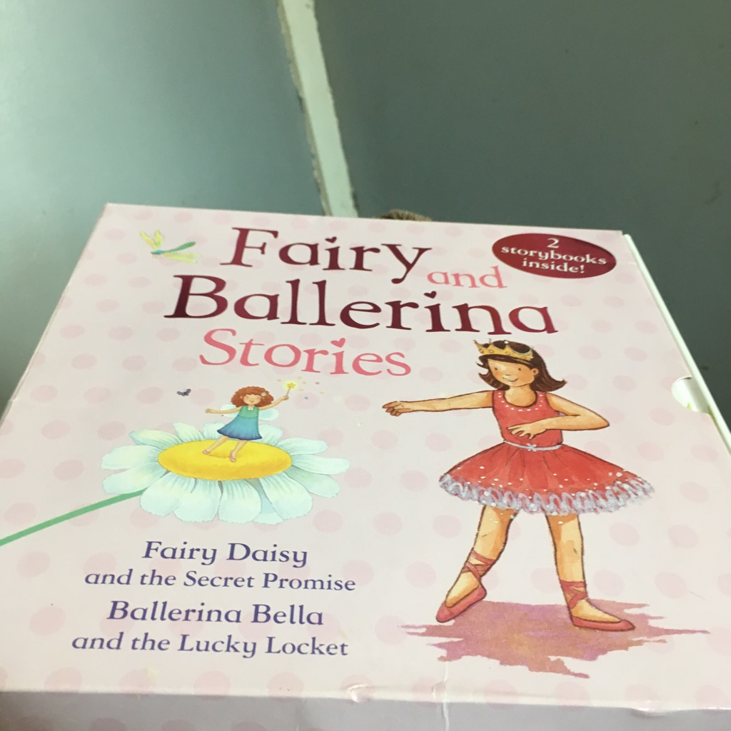 Fairy and ballerina stories book