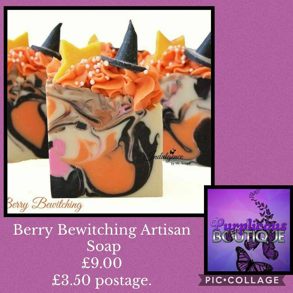Berry Bewitching Artisan Soap