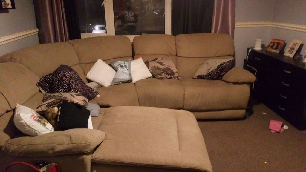 5 seater corner sofa like new