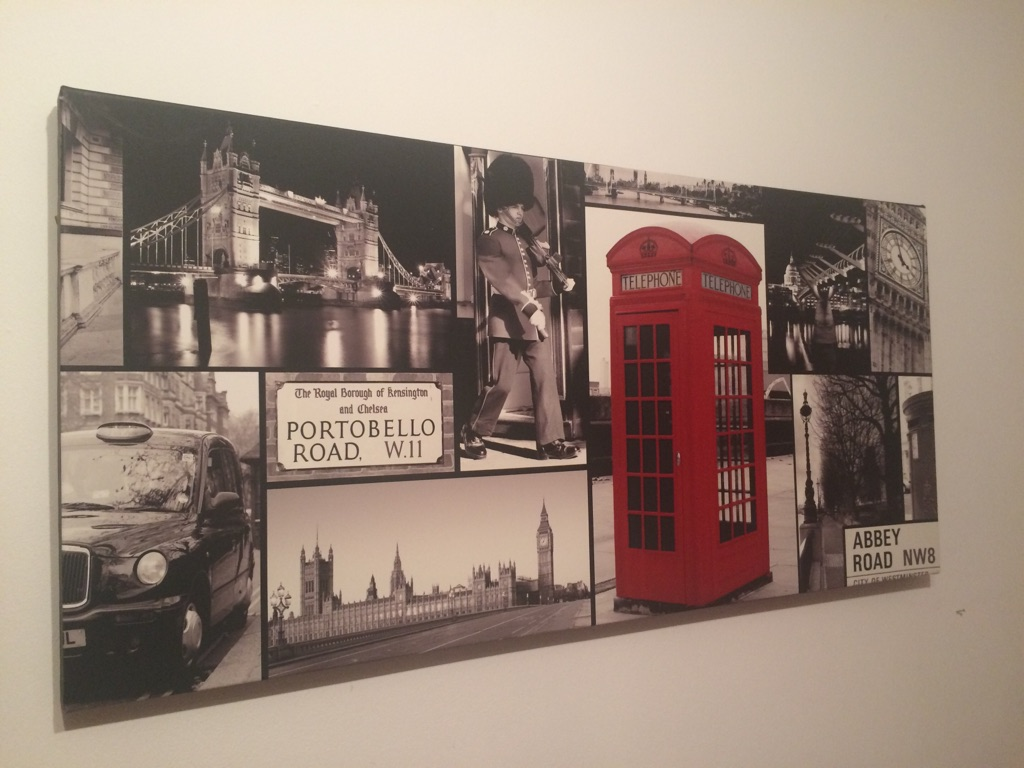 London landscape canvas