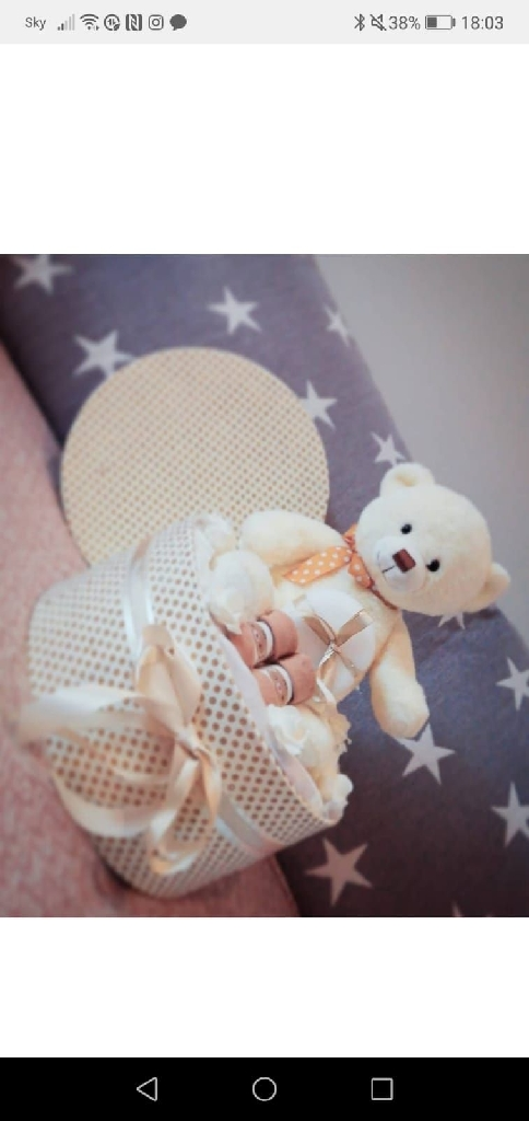 Baby nappy cakes and hampers