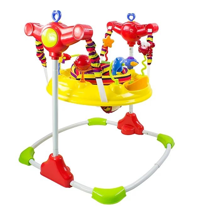 Red kite jumperoo baby pouncer