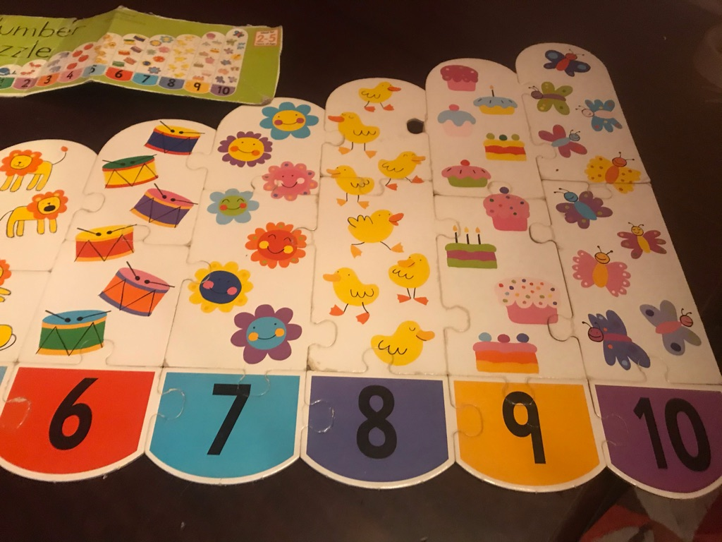 Children's Number Puzzle