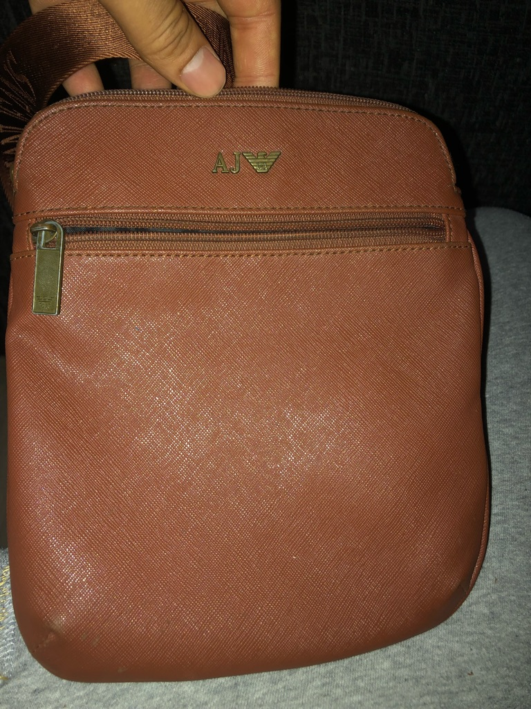 Light Brown Armani Aj Bag