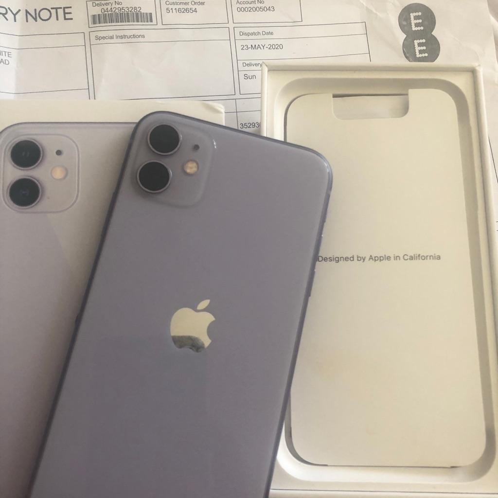 Apple IPhone 11 - 64GB- Unlocked