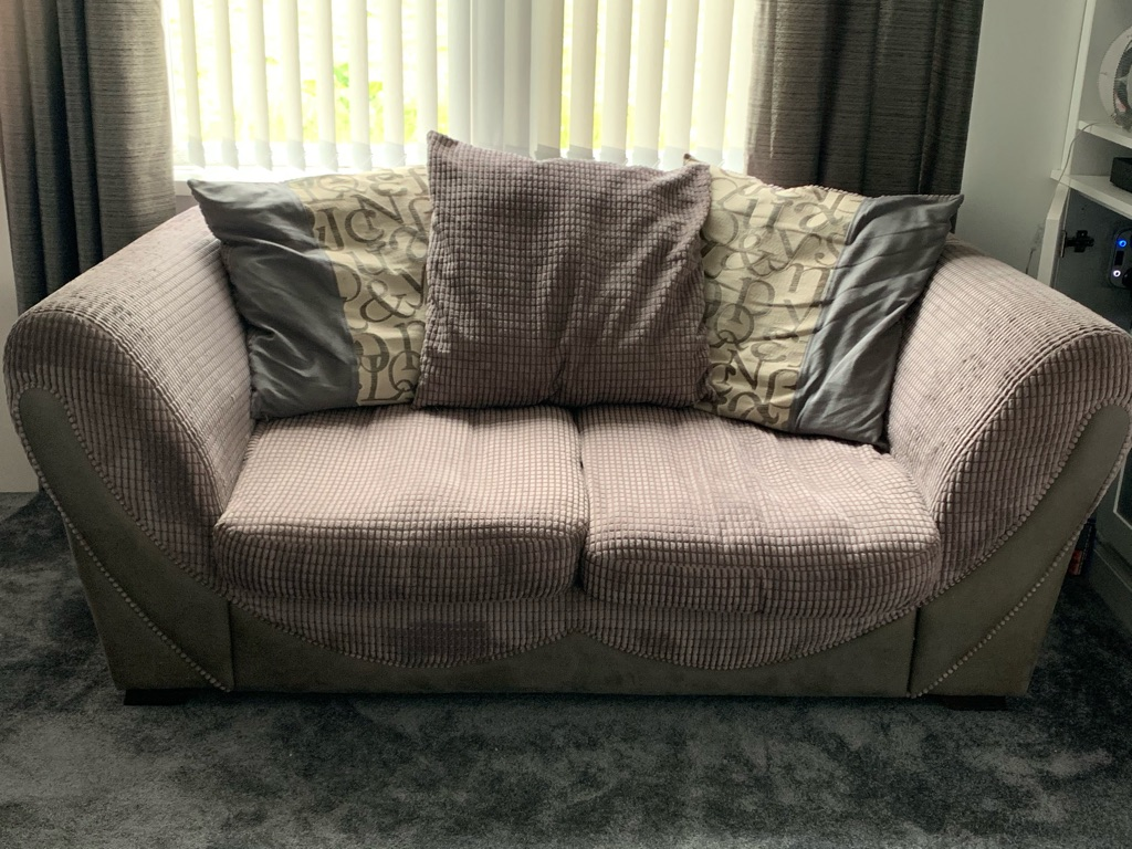 2 & 3 Seater Sofa - Collection Only