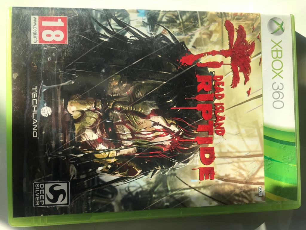 Dead island riptide Xbox 360 game