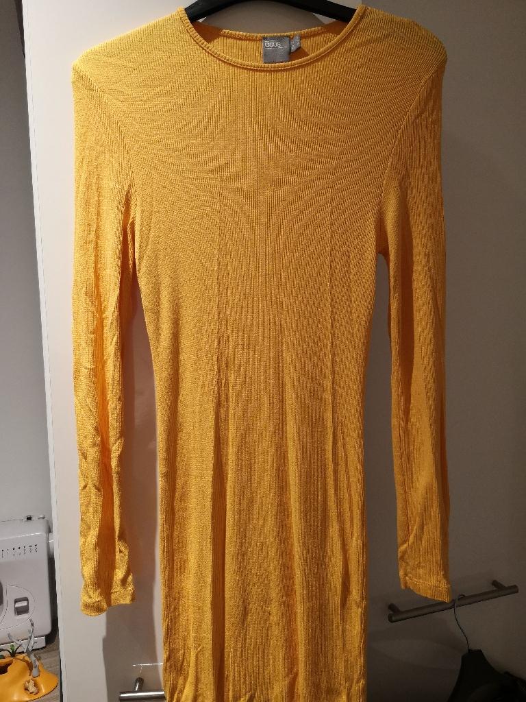 Asos sunshine yellow dress size 6